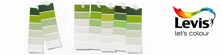 Levis kleurenwaaier groen