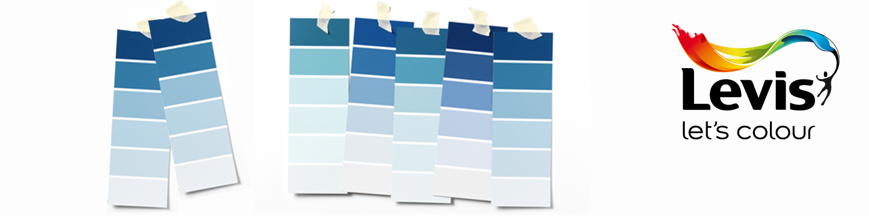 Levis kleurenwaaier blauw