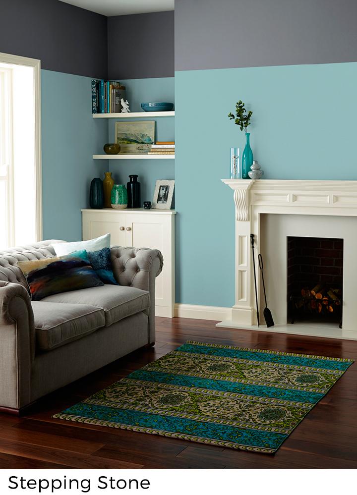 Blauwe verfkleuren voor interieur decoratie painttrade for Interieur decoratie