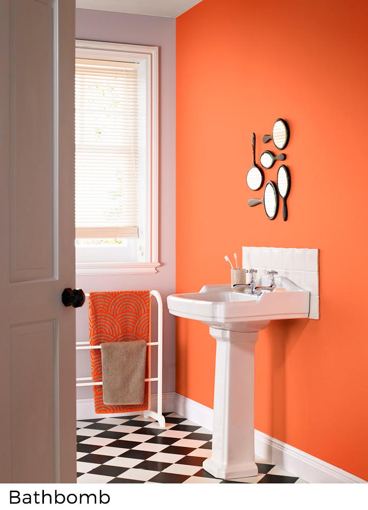 Geel en oranje verfkleuren in uw interieur - Painttrade