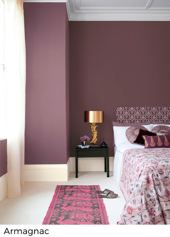 Rode roze en paarse verfkleuren painttrade for Interieur verfkleuren