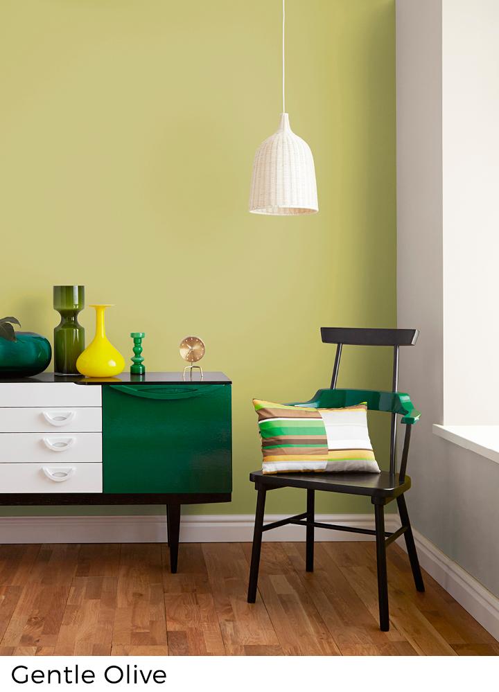 Beroemd Verfkleuren: groentinten uitkiezen - Painttrade @IG03