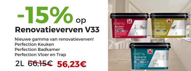 v33 renovatieverf prijs