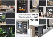 Trendy kleuren van 2018