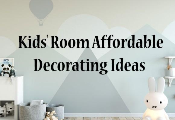Ideeën voor betaalbare kinderkamer decoratie