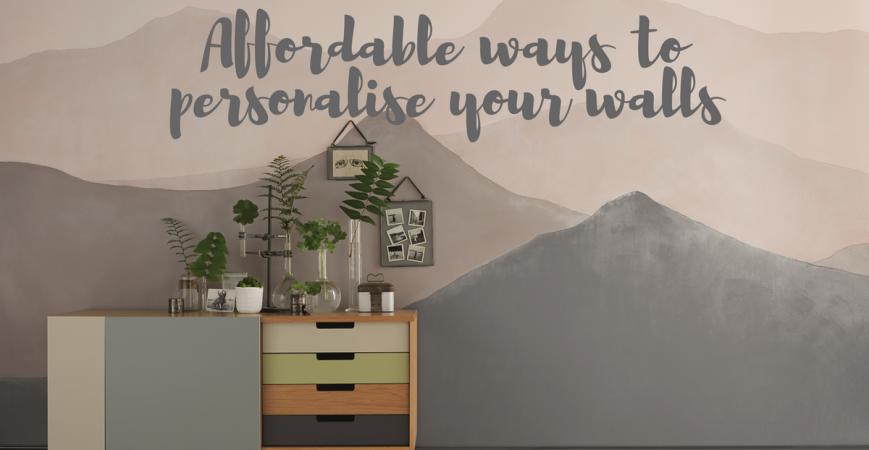 Een klein budget om uw interieur herin te richten? Kies voor verf!