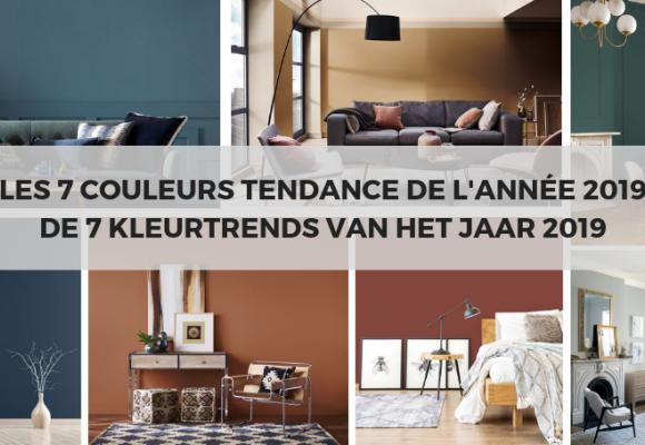 De kleuren van het jaar 2019 in interieurdecoratie