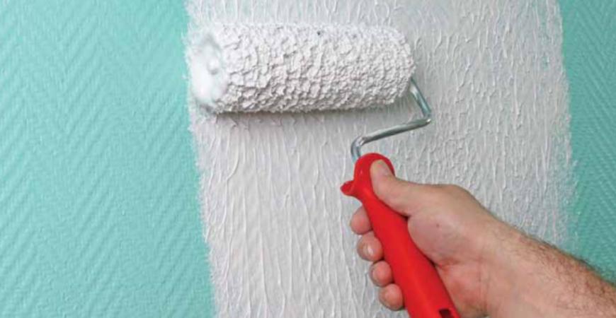Hoe renoveer je een glasvezelbehang muur?