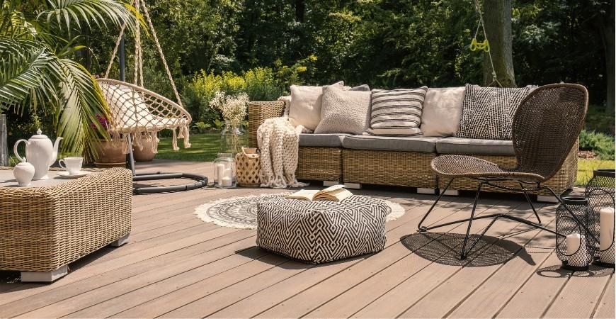 Onderhoudstips voor een houten terras