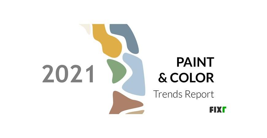 Verfkleurtrends in 2021